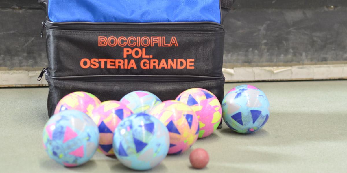 Polisportiva Osteria Grande - BOCCE